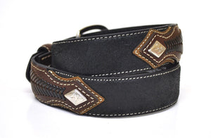 Nocona Kid's Western Leather Belt-Black-N4416601