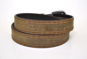 Ariat Scout Men's Western Leather Belt-Brown 10006949