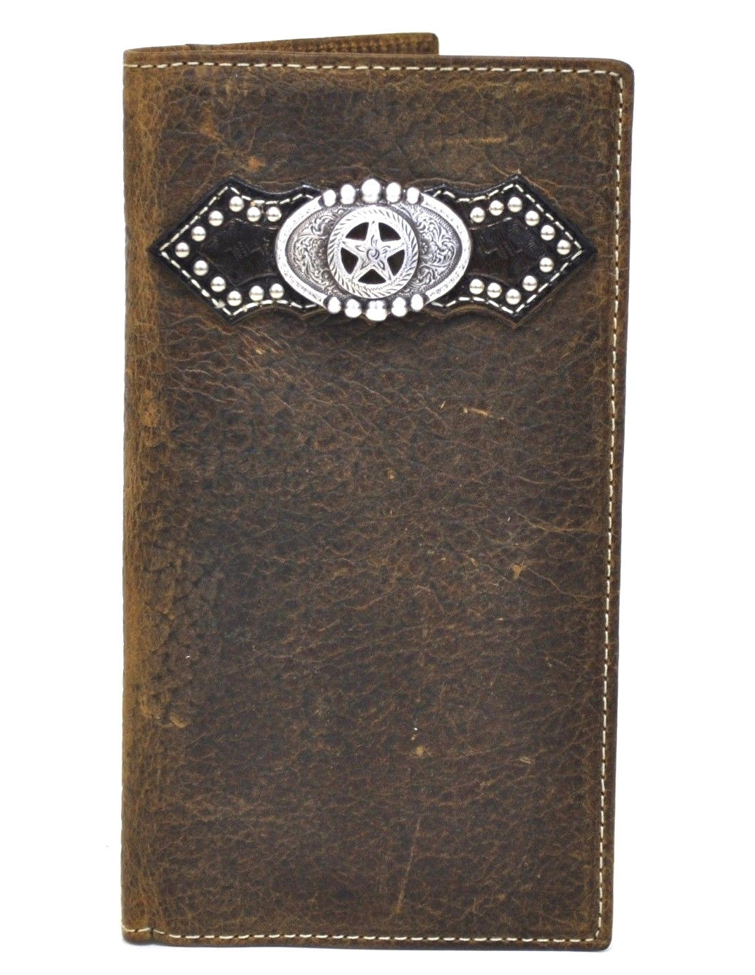 Ariat Star Concho Brown Rodeo Wallet