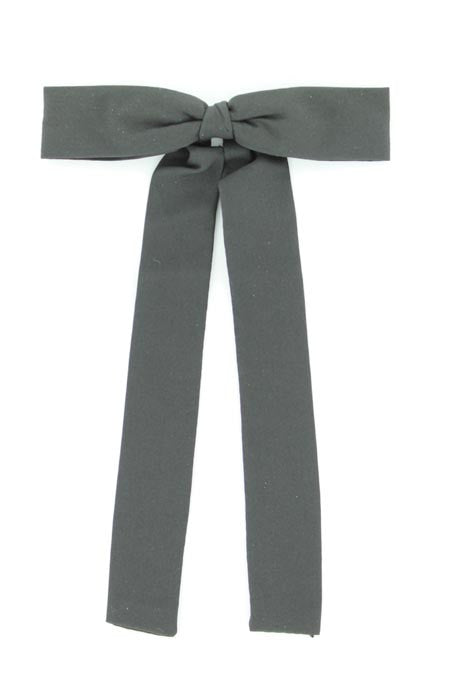 Black Colonel Neck Tie