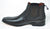 Gavel Men's Calfskin Leather Black Square Toe Ankle Boot 57900
