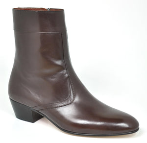 Gavel Men's Calfskin Leather Dress Boot 3801 Brown