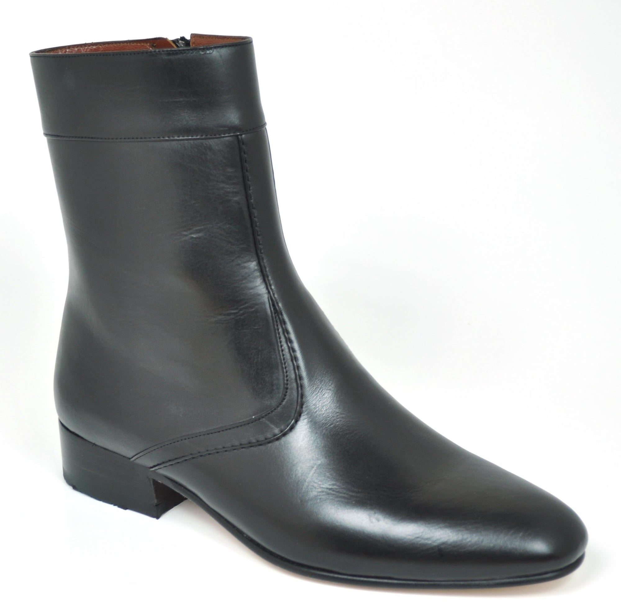 Gavel Men's Calfskin Leather Dress Boot 0901 Black