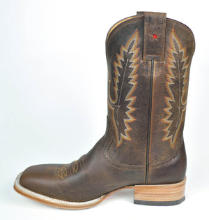 Gavel Mens Rodeo Encino Bronze Boots