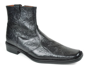 Baronett Men's Dress Ankle Leather Boots 7943