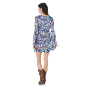 Wrangler Rock 47 Peasant Sleeve Dress