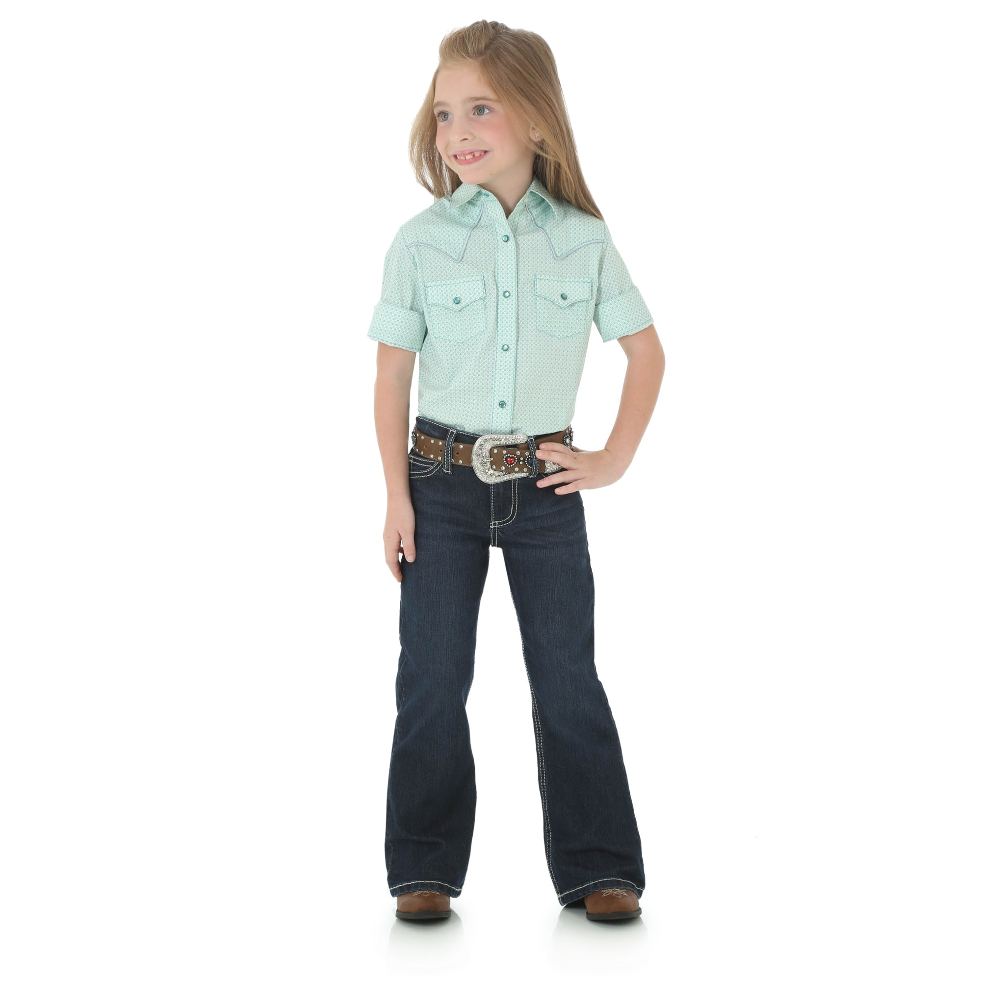 Wrangler Girls' Western Shirt