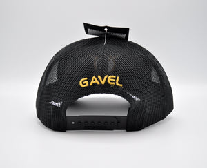 Gavel Logo R112 Typhoon Black Cap