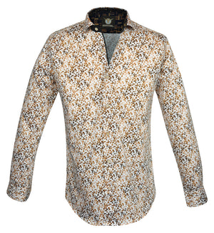 Gavel Men's Bilbao Gold Fashion Dress Shirt