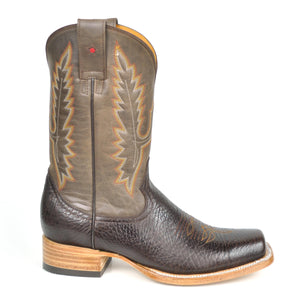 Gavel Willacy Stockman Boots Brown