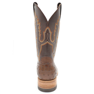 Gavel Men's Arroyo Smooth Ostrich Boot Tobacco