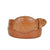 Gavel Smooth Ostrich Western Belt - Cognac