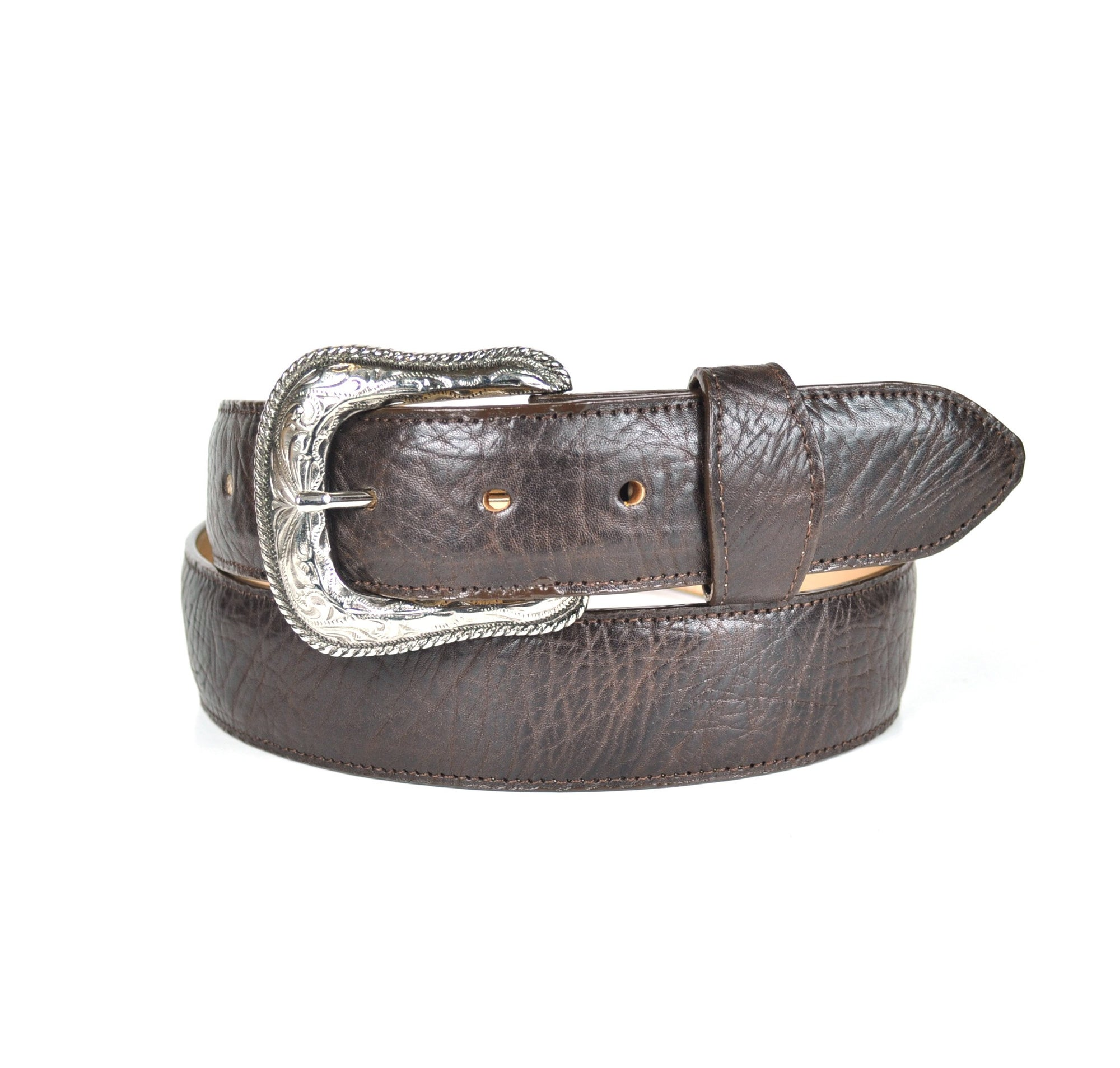 Gavel Men's Bullhide Western Belt - Brown