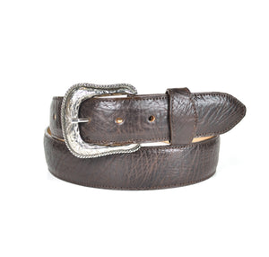 Gavel Bullhide Western Belt Brown