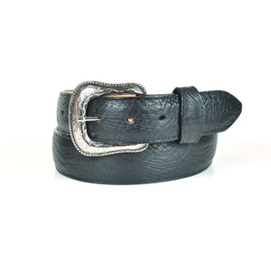 Gavel Bullhide Western Belt -Black