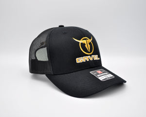 Gavel Logo Richardson 112 Black Cap