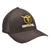 Gavel Logo Flexfit Twill Brown Cap
