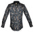 Gavel Men's Luarca Black Fashion Dress Shirt