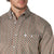 Wrangler Men's George Strait Long Sleeve Shirt Brown/Coral