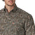 Wrangler Men's George Strait Long Sleeve Brown Floral Shirt