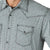 Wrangler Men's 20X Competition Black/Green Snap Shirt