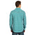 ROCK 47 by Wrangler Men's Snap Teal Shirt