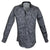 Steelo Skull Vibe Black Fashion Dress Shirt