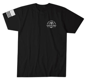 Howitzer Warrior Spirit T-Shirt Black
