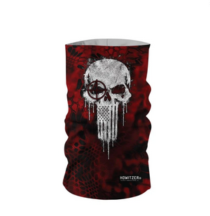 Howitzer Crush Skull Neck Gaiter