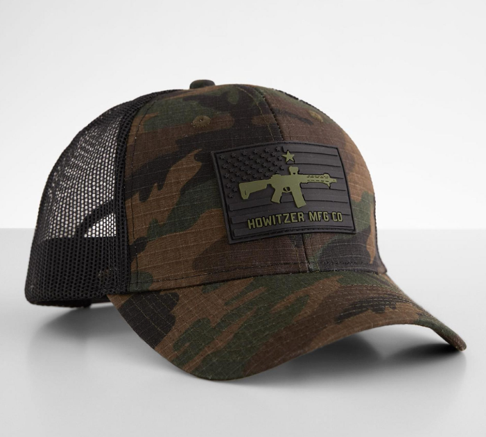 Howitzer Patriot Flag Trucker Hat