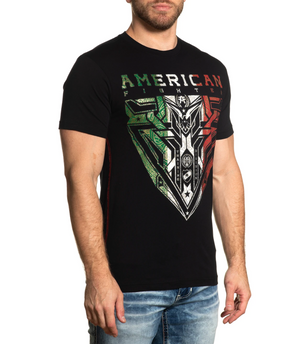 American Fighter Woodsfield Mexico T-Shirt Black
