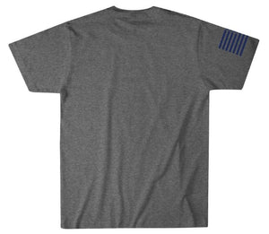 Howitzer Texas Flag T-Shirt Vintage Grey