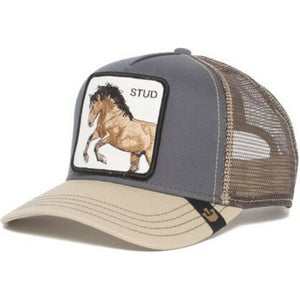 Goorin Bros You Stud Trucker Hat Grey