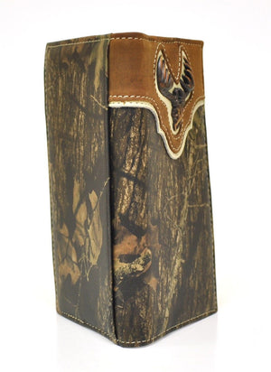 Nocona Deer Skull Mossy Oak Rodeo Wallet