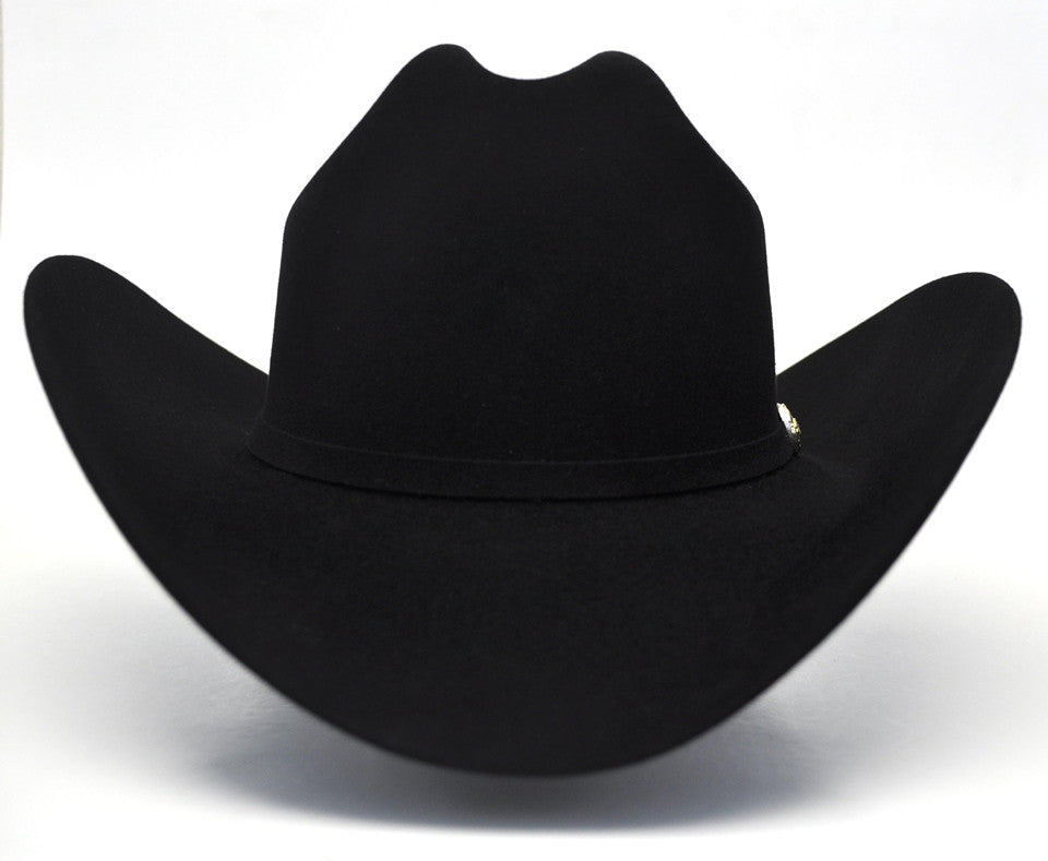 Larry Mahan 6X Real Black Fur Felt Cowboy Hat - Gavel Western Wear dcf699b6256