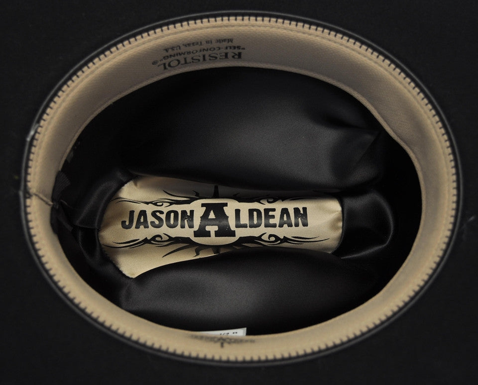 18448eb22 Resistol Jason Aldean The Truth Wool Western Hat