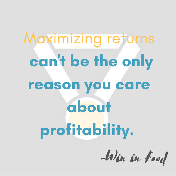 Profits are Important & Everyone Should Understand Why