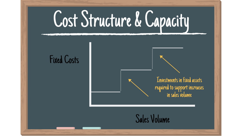 Cost structure and capacity