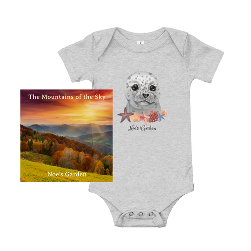 Mountains of the Sky Baby Bundle - Digital Album + Onesie (Assorted Colors)