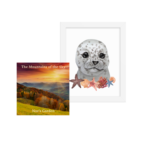Mountains of the Sky - Digital Album + Little Seal Framed Portrait
