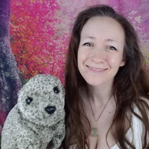 Little Seal Hand Puppet by Folkmanis & Personal message from Noe