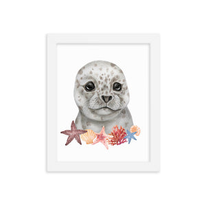 Little Seal Wall Art