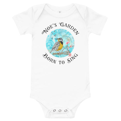Born to Sing Onesie, Short Sleeves - Assorted Colors