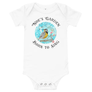 Born to Sing Infant Bodysuit, Short Sleeves - Assorted Colors