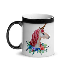 Load image into Gallery viewer, Unicorn Mug with Magically Appearing Unicorn!  (Just add Hot Liquid...)