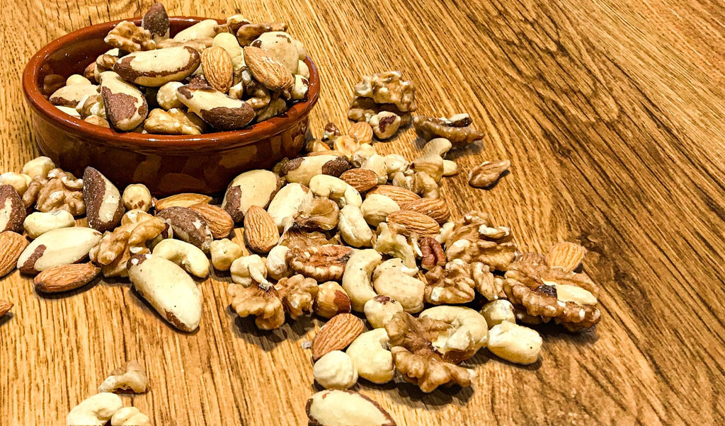 mixed nuts raw nut almonds brazils walnuts cashews whole foods wholefoods health foods vegan plant based vegetarian diet superfood