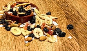 mixed dried fruit fruits raw nut nuts Raw nuts whole foods wholefoods health foods vegan plant based vegetarian diet superfood