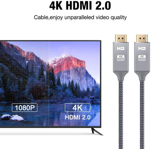 4K 6.6ft HDMI Cable