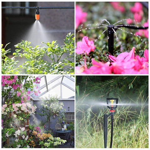 Mist Cooling Automatic Irrigation System-25M KIT