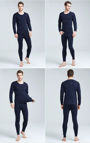 Mens Thermal Long Johns Underwear Wear For Men Pants Leggings Sets Insulated